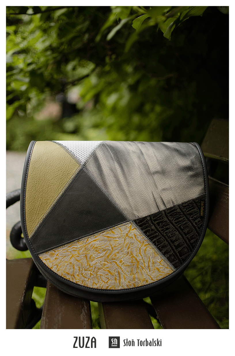 Skórzana listonoszka handmade
